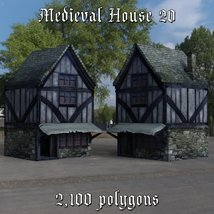 Medieval World Set 4 for DAZ Studio image 3