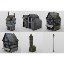 Medieval World Set 4 for DAZ Studio image 7