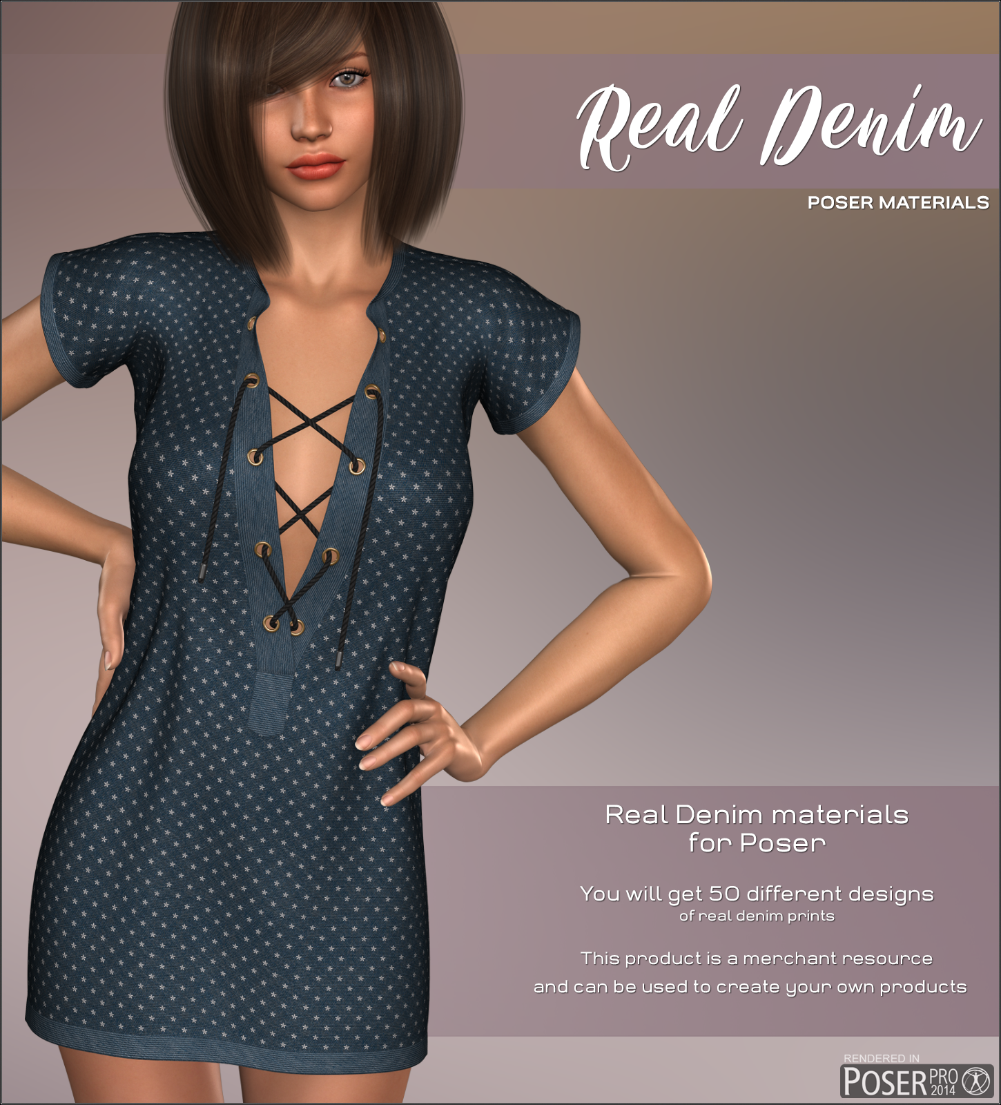 Poser - Real Denim by Atenais