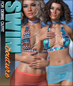 SWIM Couture for Desiree G8F 3D Figure Assets Sveva