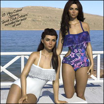 Sirens: Frill n' Fringe Swimsuit for G8F image 4