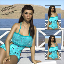 Sirens: Frill n' Fringe Swimsuit for G8F image 5