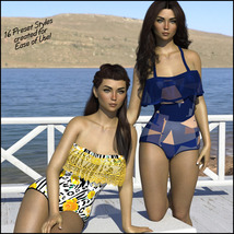 Sirens: Frill n' Fringe Swimsuit for G8F image 8