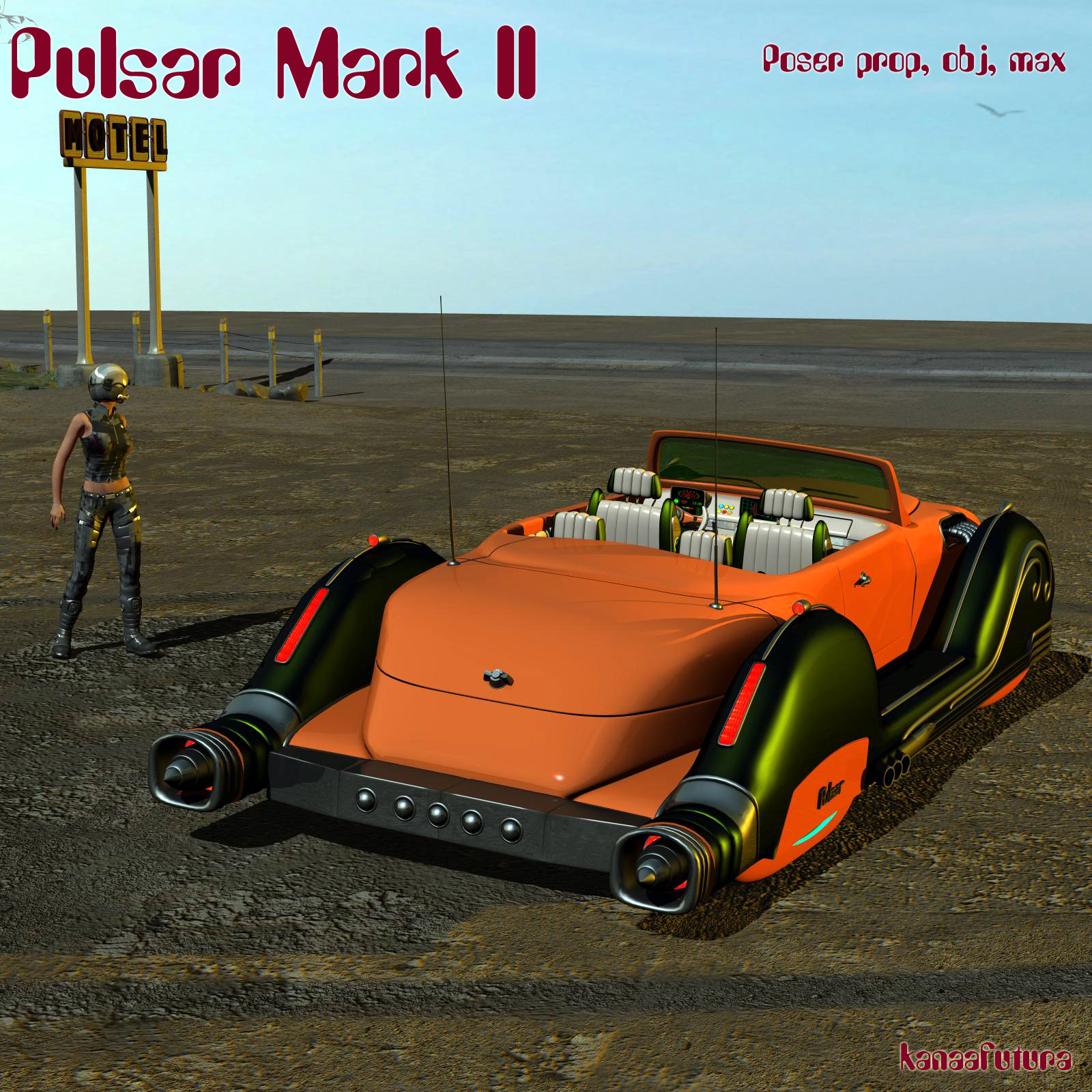 Pulsar Mark II Poser prop by kanaa