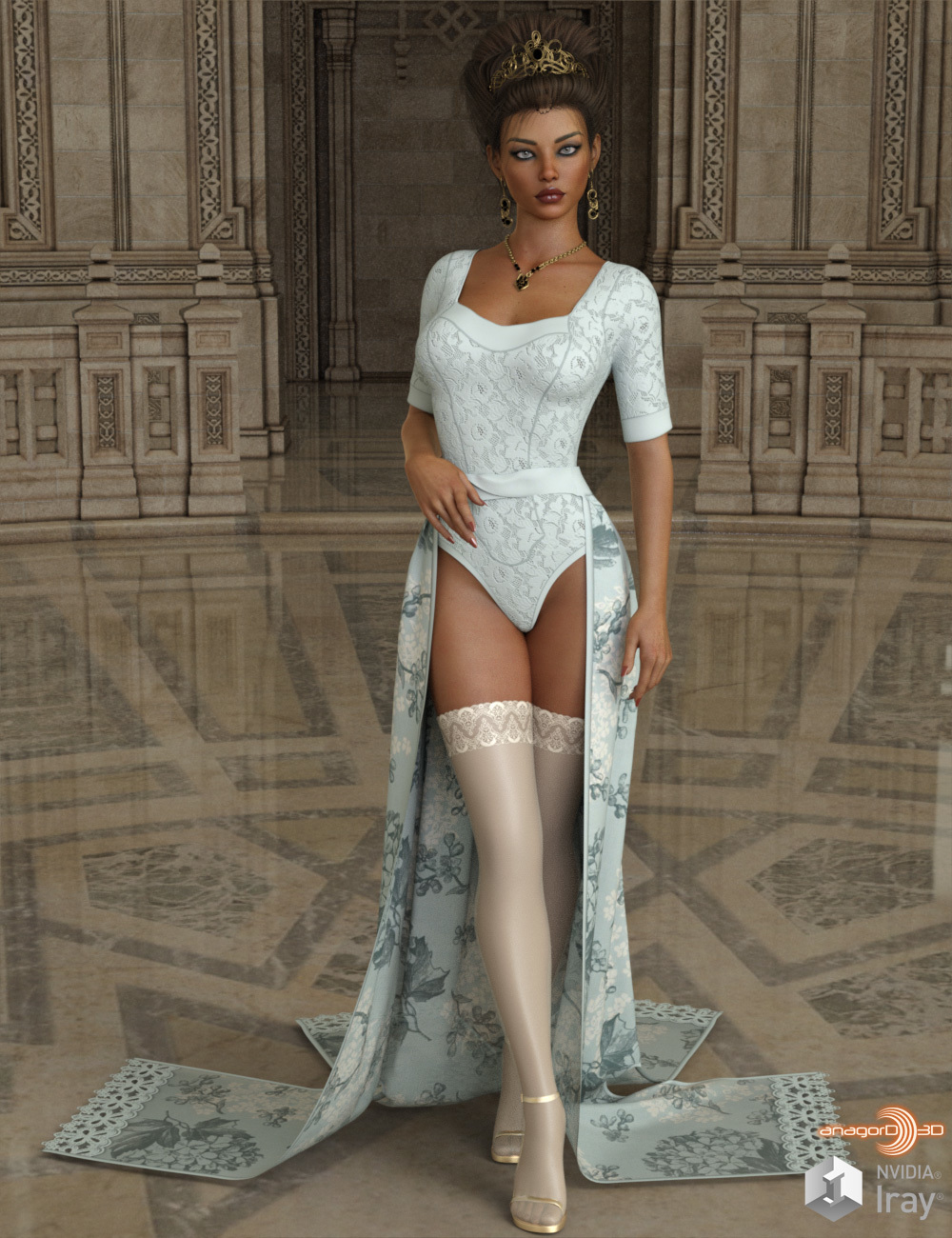 VERSUS - dforce Flowing Dream Lingerie G8F by Anagord