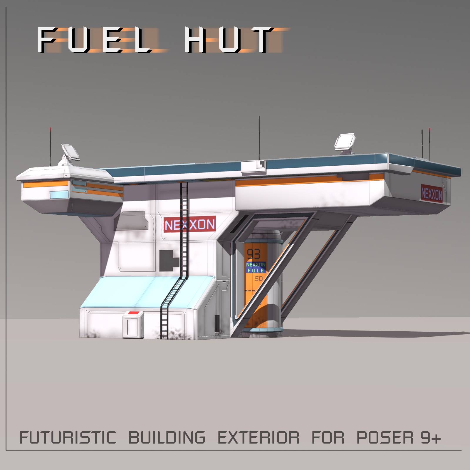 Fuel Hut FBX - Extended License by shawnaloroc