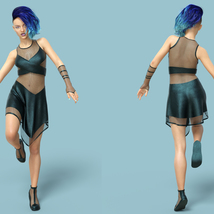Cyber Dress for G8F image 3