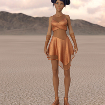 Cyber Dress for G8F image 6