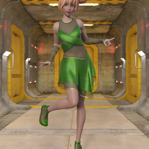 Cyber Dress for G8F image 7
