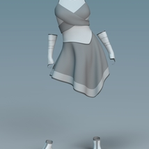Cyber Dress for G8F image 11