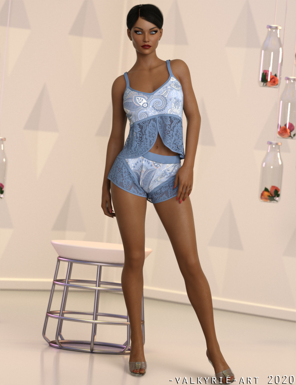 InStyle - JMR dForce Lavoes Satin Set for G8F by -Valkyrie-