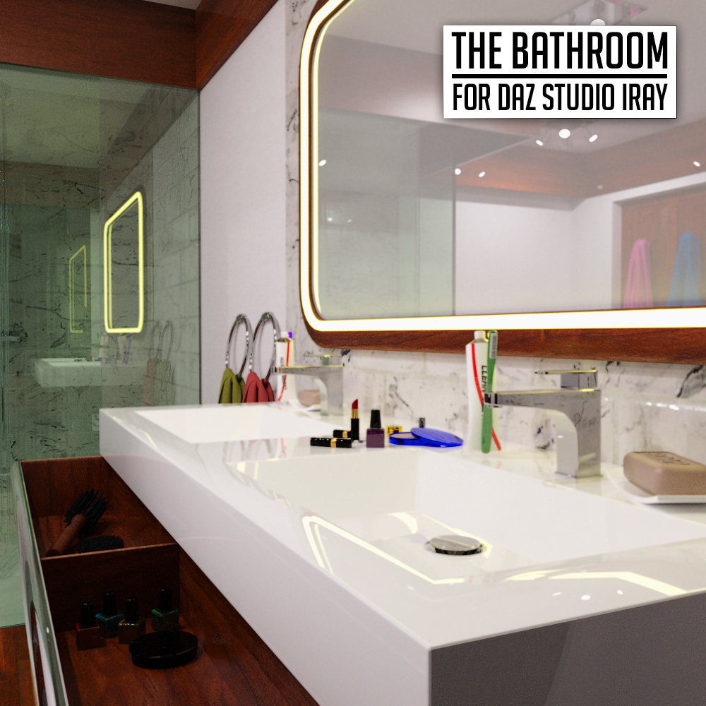 The Bathroom for DS Iray by powerage