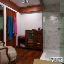 The Bathroom for DS Iray image 6