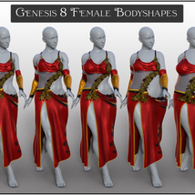 dForce Drow Matriarch for Genesis 8 Females image 9