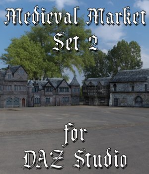 Medieval Market 2 for DAZ Studio 3D Models VanishingPoint