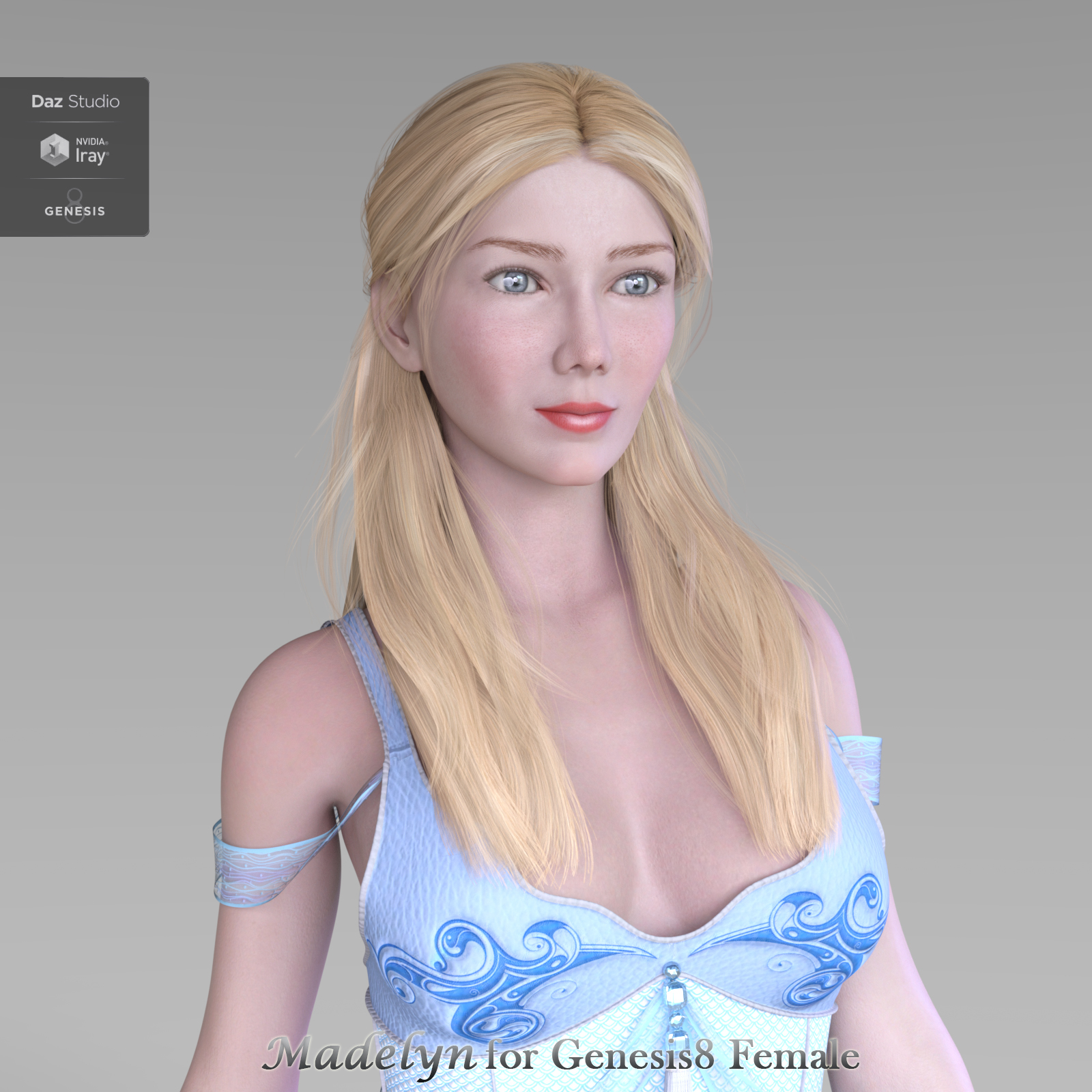 Madelyn for Genesis 8 Female by CarefreeMonkey