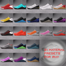 Functional Training Shoes  for Genesis 3 and 8 image 1