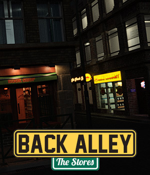 Back Alley The Stores for DS Iray - Extended License 3D Models Extended Licenses powerage