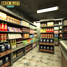 Back Alley The Stores for DS Iray - Extended License image 4