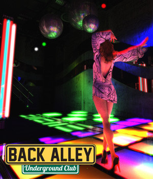 Back Alley Underground Club for DS Iray - Extended License 3D Models Extended Licenses powerage