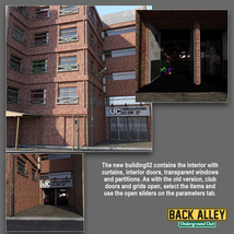 Back Alley Underground Club for DS Iray - Extended License image 1