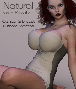 G8F Natural 2 Private 3D Figure Assets nirvy