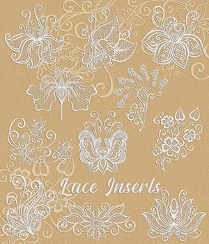 Lace Inserts 2D Graphics Merchant Resources Atenais