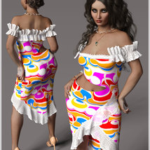 Beauty For dForce Helen Dress Outfit image 1