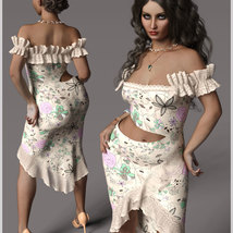 Beauty For dForce Helen Dress Outfit image 2