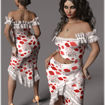 Beauty For dForce Helen Dress Outfit image 5
