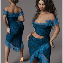 Beauty For dForce Helen Dress Outfit image 6