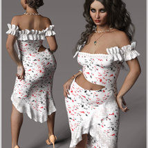 Beauty For dForce Helen Dress Outfit image 7