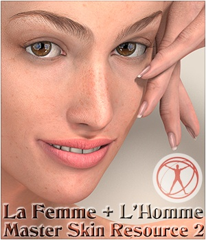 La Femme + L'Homme - Master Skin Resource 2 2D Graphics La Femme - LHomme Poser Figures Merchant Resources 3Dream