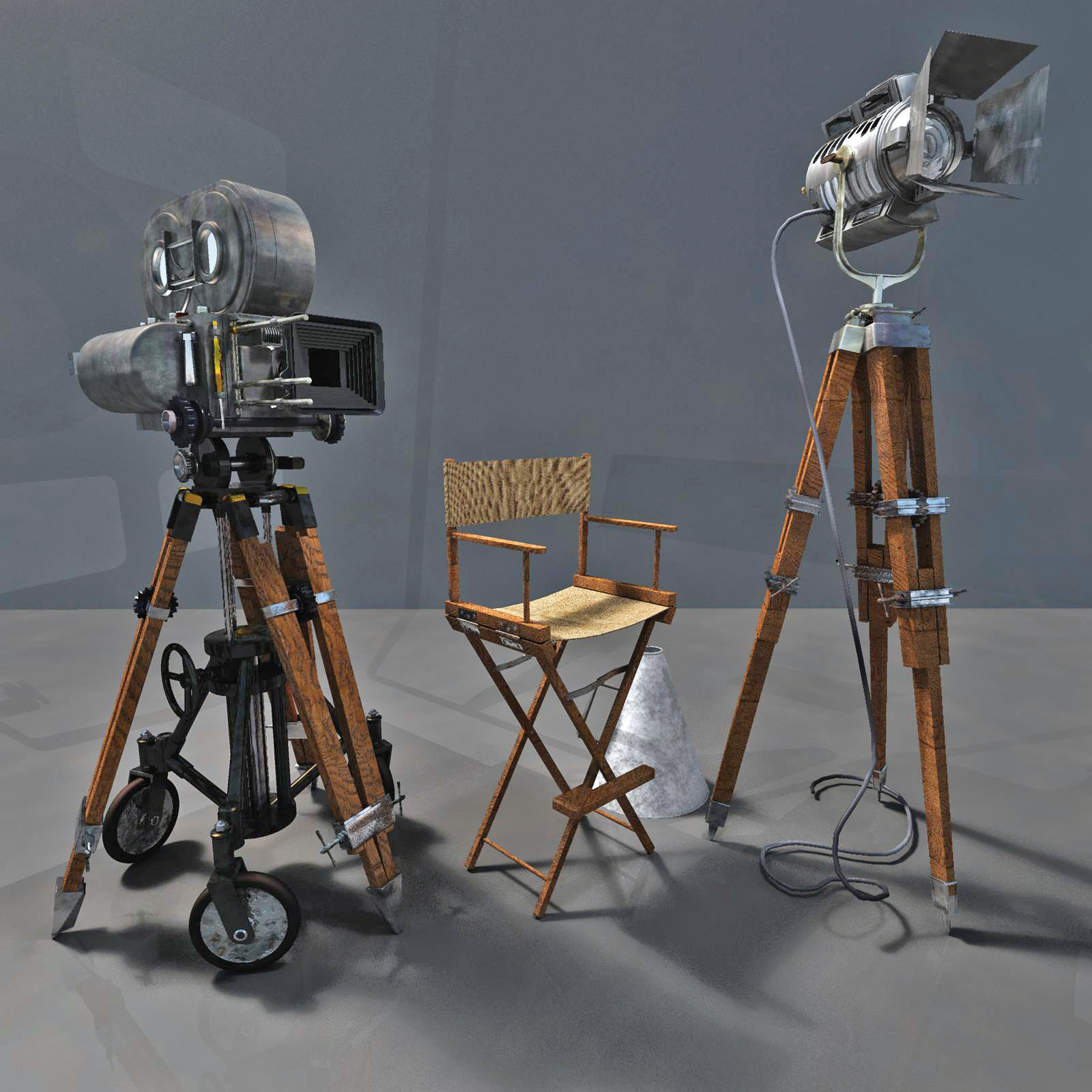 MS20 Motion Picture Camera & Lights by London224