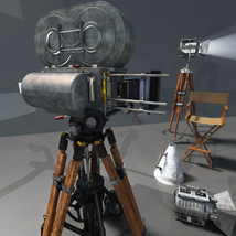 MS20 Motion Picture Camera & Lights image 8