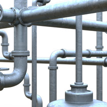 Photo Props: Industrial Pipes - Extended License image 2