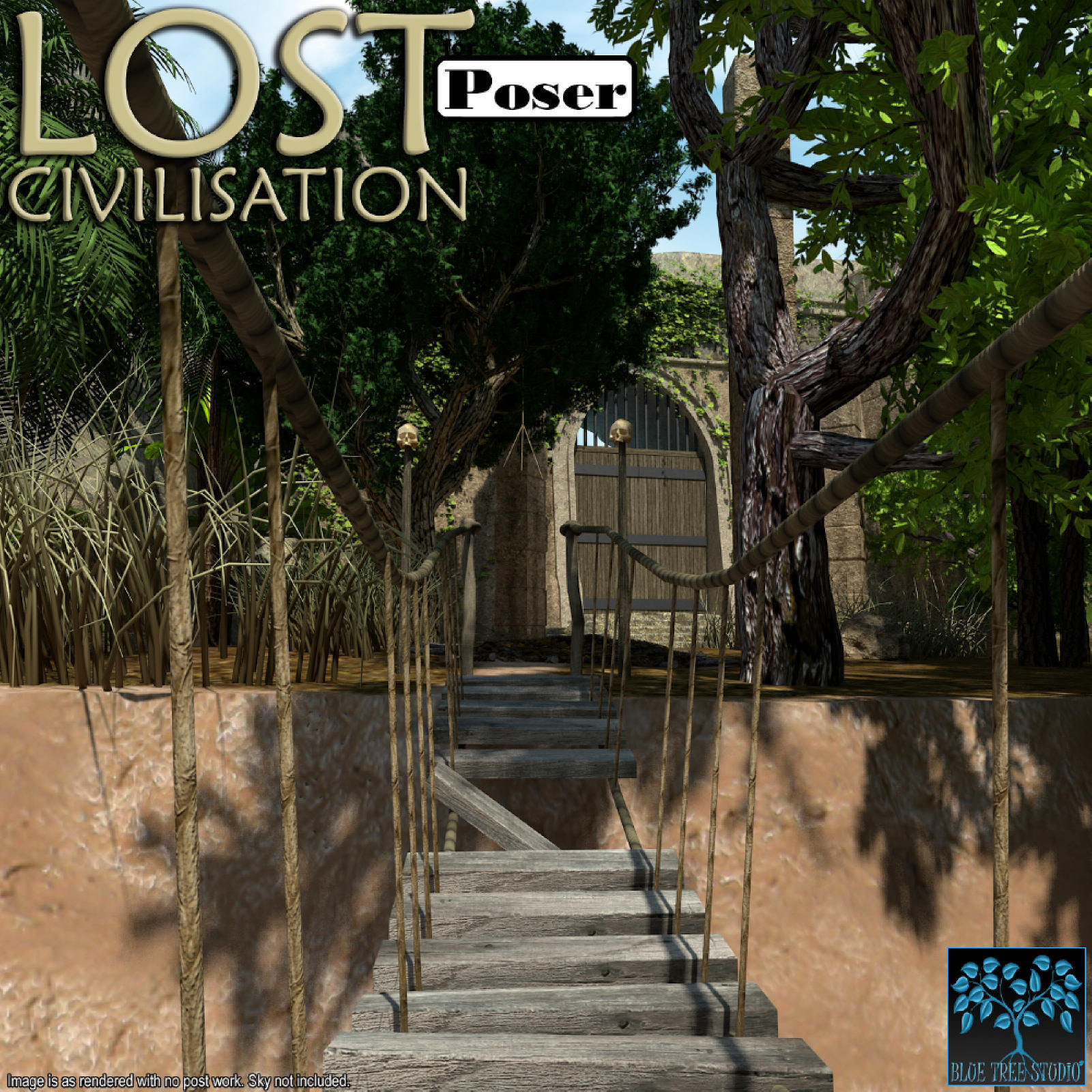 Lost Civilisation for Poser by BlueTreeStudio