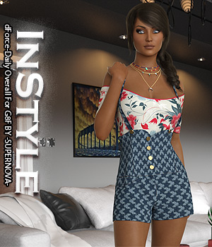 InStyle - dForce-Daily Overall For G8F 3D Figure Assets -Valkyrie-