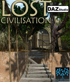 Lost Civilisation for Daz Studio 3D Models BlueTreeStudio