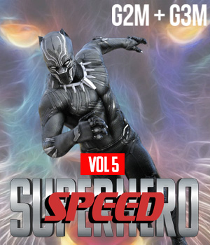 SuperHero Speed for G2M and G3M Volume 5 3D Figure Assets GriffinFX