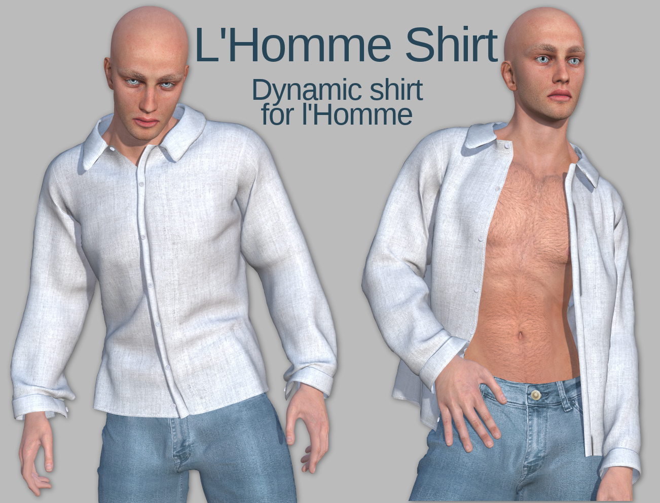 L'Homme Shirt  by Tipol