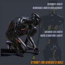 CyBody - Cyborg Internal Structure and Materials for Genesis 8 Male image 1