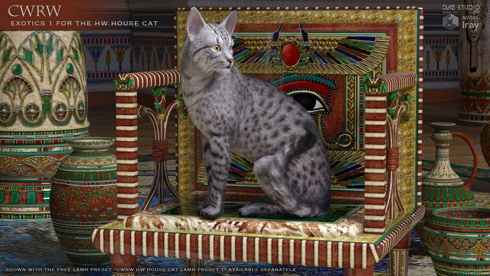 CWRW Exotics 1 for the HW House Cat by cwrw