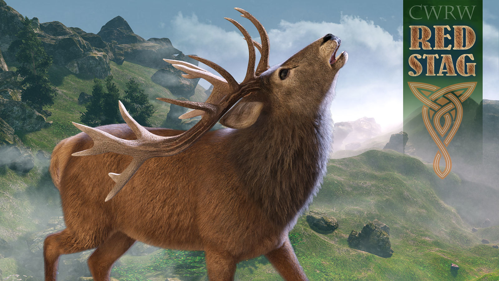 CWRW Red Stag for the HiveWire Mule Deer by cwrw
