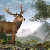 CWRW Red Stag for the HiveWire Mule Deer image 2