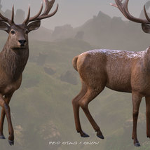 CWRW Red Stag for the HiveWire Mule Deer image 6