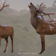 CWRW Red Stag for the HiveWire Mule Deer image 7
