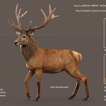 CWRW Red Stag for the HiveWire Mule Deer image 8