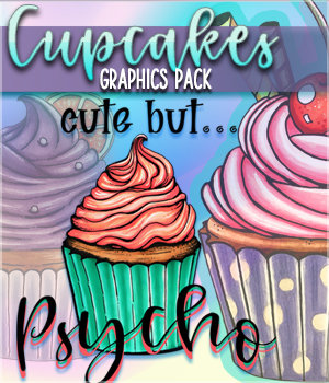 SV Cupcake Graphics Pack 2D Graphics Sveva