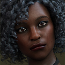 TDT-Afia for Genesis 8 Female image 1